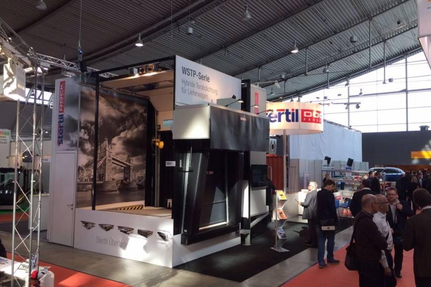 LogiMat 2017 Stertil Dock Products Complete Loading Bay Solutions